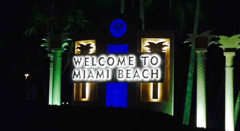 123 Corporate Transportation Welcomes You to Miami Beach