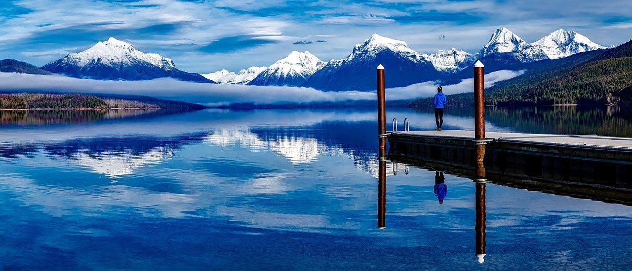 Lake McDonald Glacier National Park Montana Summer Vacation