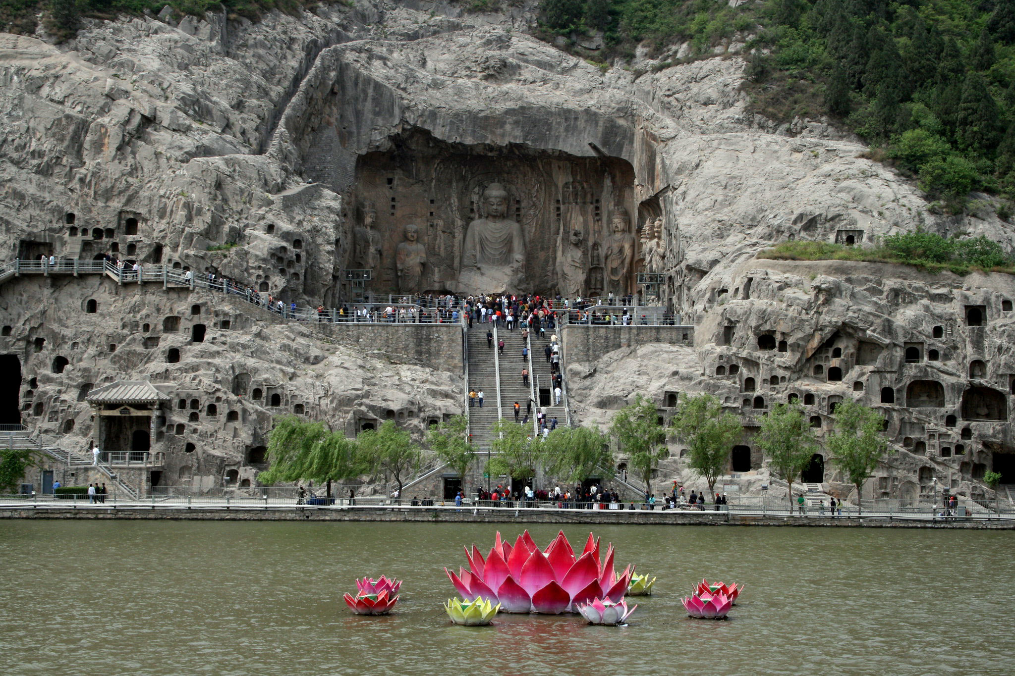 Grottoes from Longmen, China