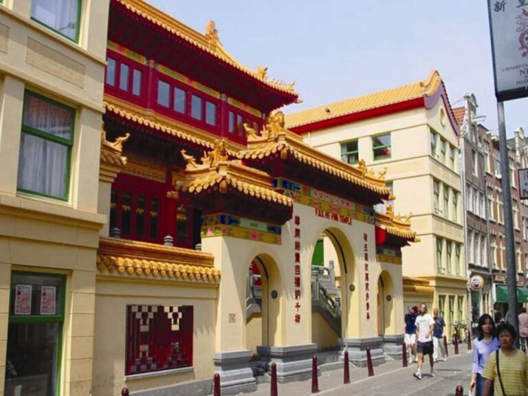Buddhist Temple Fo Guang Shan Amsterdam Sightseeing Attraction