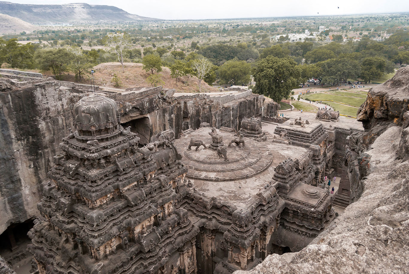 Ellora Rock-Carved Caves